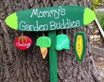 Mommy's Garden sign