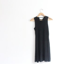 Slinky black dress - Etsy