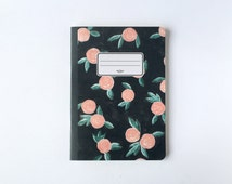 Winter Roses Notebook - Blank pages - Lined pages