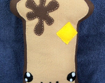 Felt Breakfast French Toast Plushie Made to Order