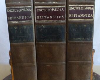 3 Volume Set of Encyclopaedia Britannica