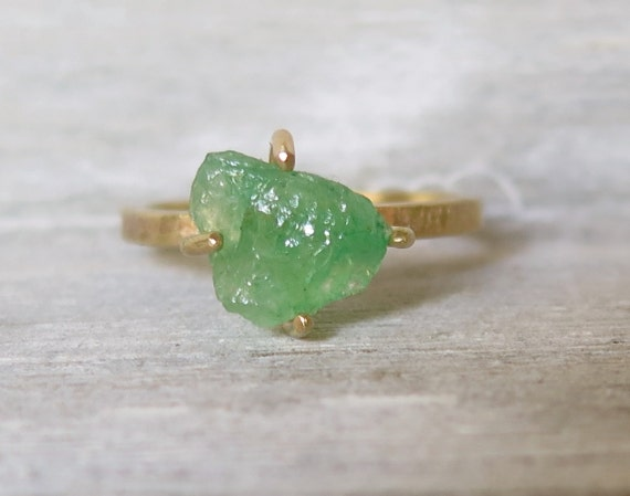 Rough Emerald Ring14k Yellow Gold Rough Emerald Ringemerald. Two Band Wedding Rings. Sliver Wedding Rings. Design Engagement Rings. Crossover Band Engagement Rings. Gaelic Engagement Rings. Walnut Engagement Rings. Leaf Vine Wedding Rings. Burnt Wedding Rings