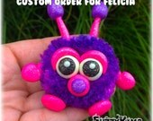 Polymer Clay Monsters Whimsical Collectible Sculptures Figurines for Felicia