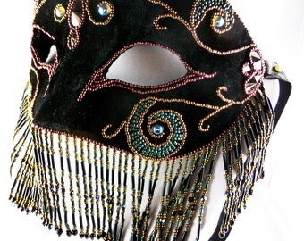 mask, Bead Embroidery, carnival
