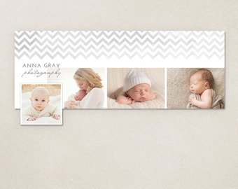 Facebook Timeline Cover Chevron - Customizable photoshop template INSTANT DOWNLOAD FC049
