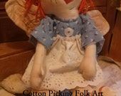 Raggedy Ann Angel Doll