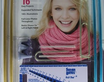 Learn Knitting Set, Includes instruction for 16 Easy Projects, Needle and Accessories - NEW, Susan Bates. - il_214x170.786491830_3a3a