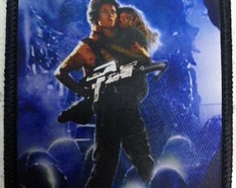 Aliens patch 80's sci-fi horror