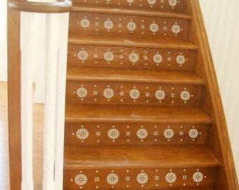 Vinyl Stair Decals For Staircase Riser Decor Decorative Stair Riser Decal  Stair Stickers Decal With Tile Stair Risers Photos.
