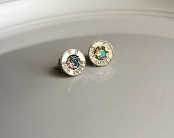 Stones & Spent Rounds: Birthstone Bullet Earrings { Bridesmaid Gift Idea }