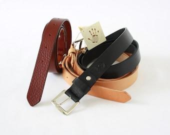 LEATHER BELT MEN/Belt & suspenders/wedding belt/leather belts/man accessories/vegetable tanned leather/handmade belt/gift for him/christmas