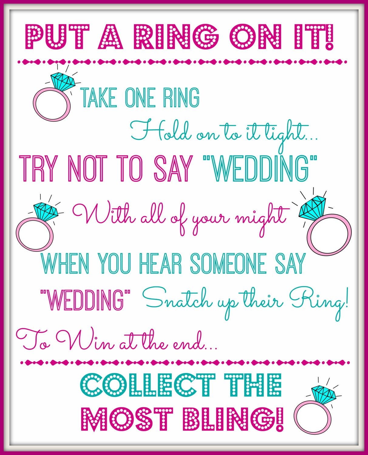 It is a picture of Handy Bridal Shower Games Printable