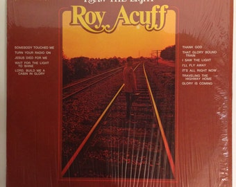 Roy Acuff I Saw The Light Vintage Vinyl 33 LP Record Album 1971 Hickory LPS 158 Stereo