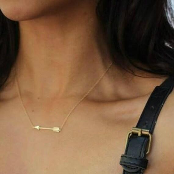 Arrow necklace, sterling silver, silver 925 arrow necklace, gift, gift, arrow silver 925 necklace, delicate necklace