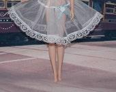 Handmade White Slip for Barbie & Fashion Royalty Sized Dolls by Jan