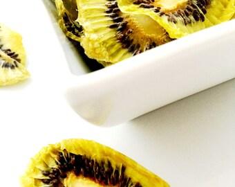 Organic Dried Kiwi Slices / Gluten Free / Vegan / No Sugar Added / Oil Free / Unsulphered