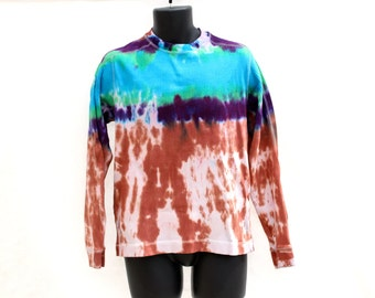 Tie Dye Up-Cycled GAP Mens Sweater