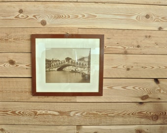 Photo of Venice with frame