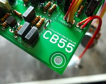 circuitbenders.co.uk CB55 v1.1 - Boss DR55 drum machine clone PCB