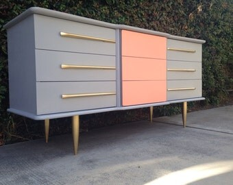 PORTFOLIO Two-Tone Dressers and Credenzas