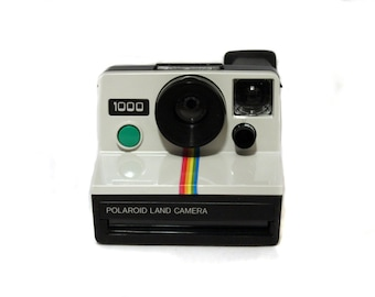 Polaroid 1000 Land Cámera - green button