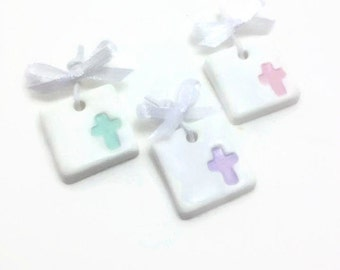 Christening Favors, Witness Pins, Cross Charms, Martirika, Baby Shower Favors, Baptism Pins, Baby Shower Souvenirs, Pack of 20, 40, 60