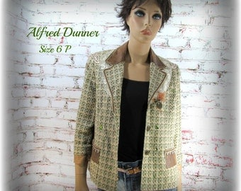 Altered couture jacket, Boho jacket, embellished jacket, Mori girl clothing, ladies jacket, women's  OOAK clothing,Size 6 P- # 96