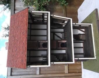 Dollhouse handmade Tudor era 1/12th scale