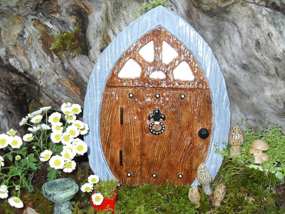 Large fairy door gnome door elf door pirate door fairy for Large gnome doors