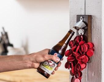 Wall Mount Magnetic Bottle Opener