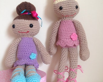 Ballerina Crochet Doll - CE Tested