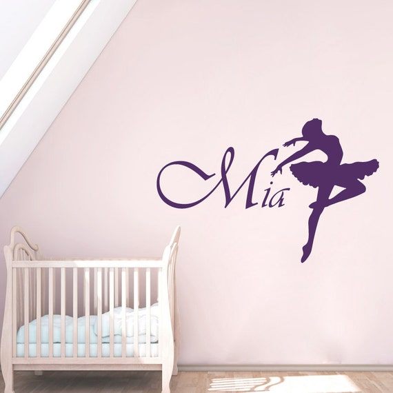 wall decal name personalized custom decals vinyl sticker art