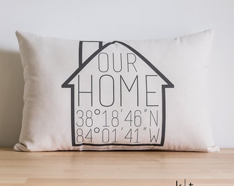 Throw Pillow Home Is Where The Doodle Is : Home is where the doodle is Custom Text Pillow by ktboundary24