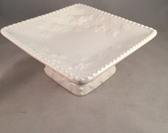 Vintage Pedestal Dish, Candy Dish
