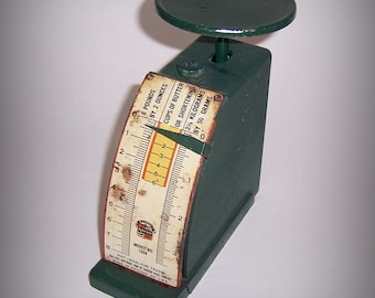 Hanson Kitchen Scale, Antique, Model 1308, Price reduced