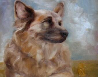 Pet Portrait, Custom Painting