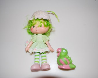 Lime Chiffon & Parrot Parfait Strawberry Shortcake Doll 1979 American Greetings