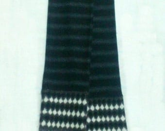 Sonia by Sonia Rykiel Wool Scarf Long Neck Wrap