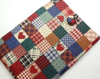 On Sale (Was 19.95) iPad mini Sleeve, iPad mini Case, iPad mini Cover, Tablet Sleeve - Red, Blue, Green, Brown, Black, Heart, Mini Patch