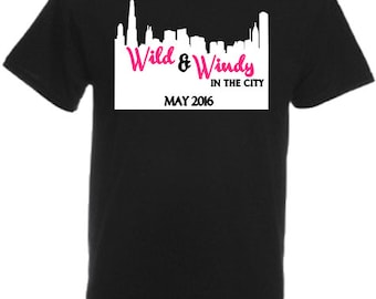 Wild & Windy In The City T-Shirt