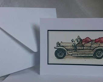 Photography A6 Blank Greetings Card,  Car 4 (C202015)