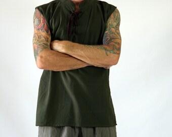 Mens Shirts - Sleeveless