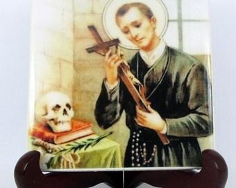 St Gerard Majella - Saint Gerard - catholic saints - religious gift idea - christian gifts - patron saint mothers and children - wall plaque