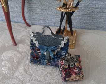 miniature Dolls House bag