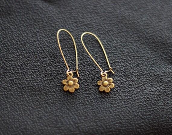 arrow felicity smoak bronze earrings handmade