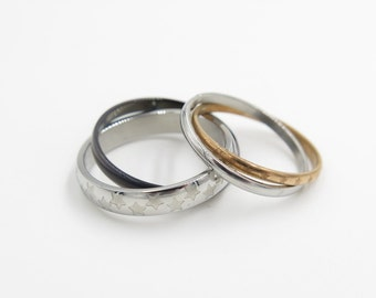 2pcs,ring for couples, personalized ring, promise ring, couple ring, promise rings, couoples ring, free engraving