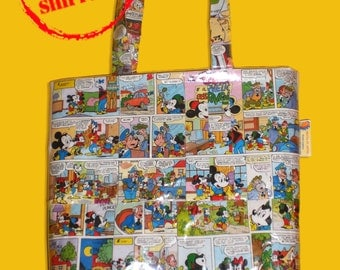 Comics Bag, Shopper Bag with comics, Eccentric