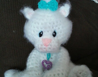 Crochet Kitty Amigurumi Pattern Only