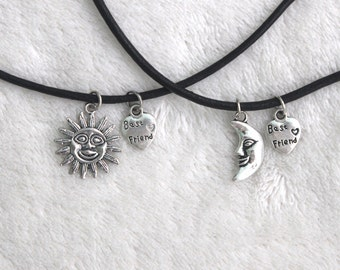 Sun & Moon Best Friend Choker Set