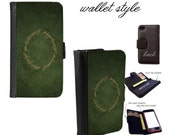 lotr Smartphone case for iphone and galaxy smartphones - Leather wallet - 4 4s 5 5s 5c 6 6s plus S3 S4 S5 Note 3 4 5